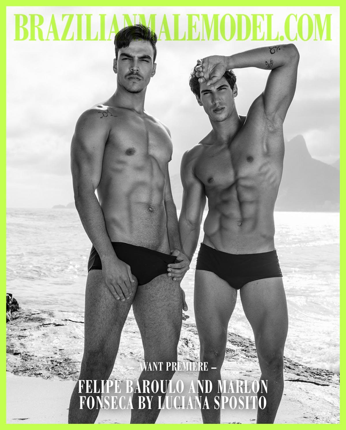 Felipe Baroulo and Marlon Fonseca by Luciana Sposito