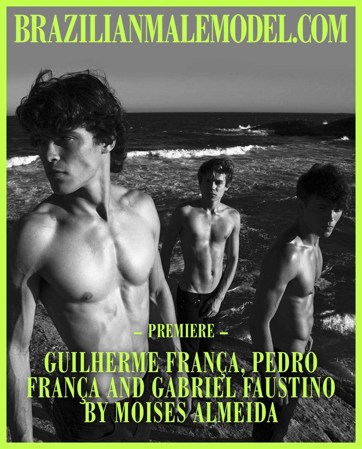 Guilherme França, Pedro França and Gabriel Faustino by Moises Almeida