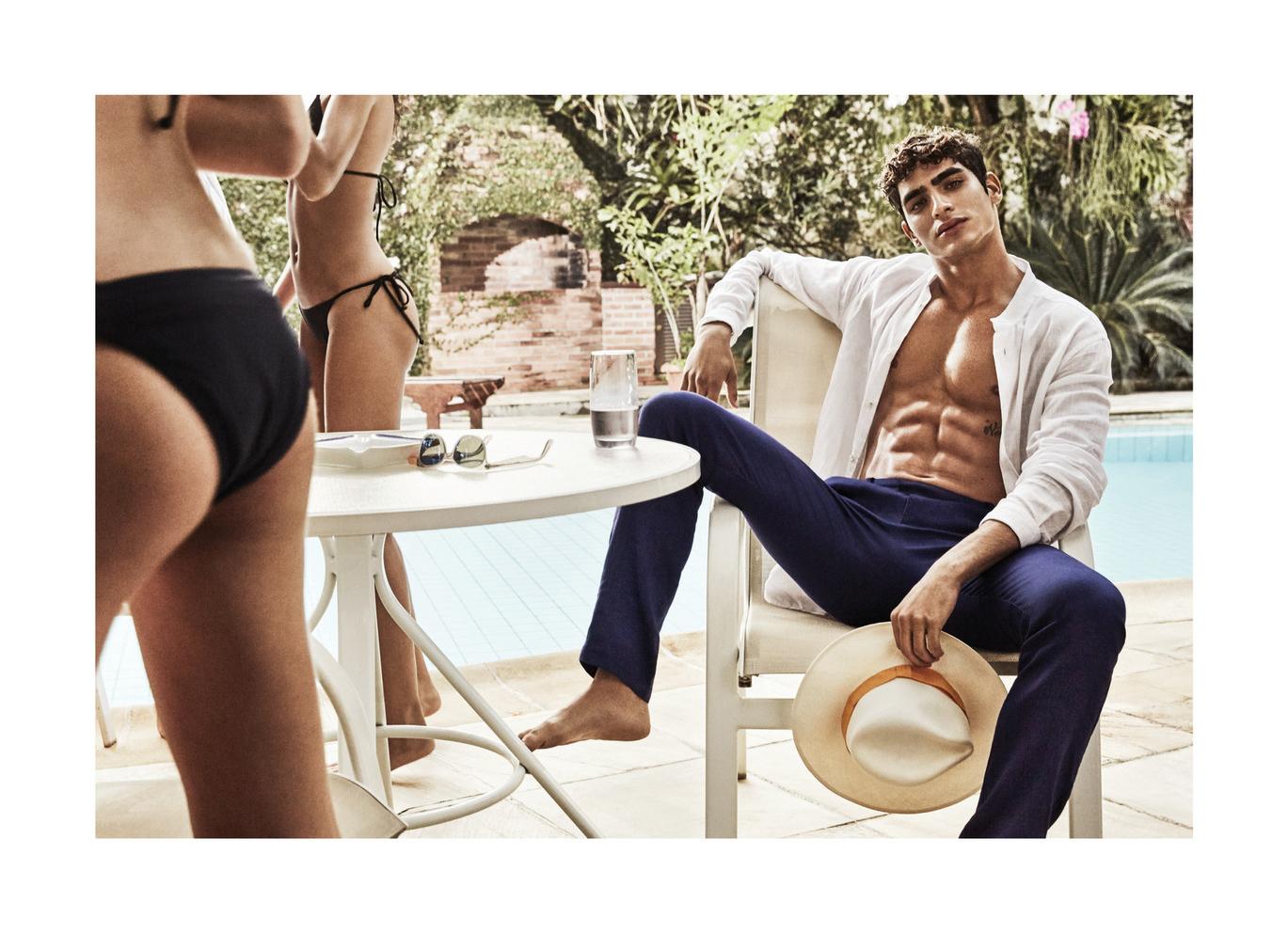 Jhonattan Burjack and Savane Gonzalez by Alex Bramall x Carioca Post