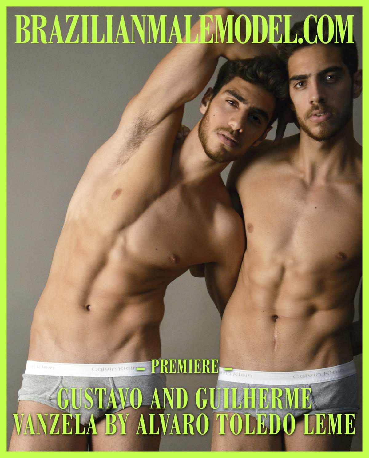 Gustavo and Guilherme Vanzela by Alvaro Toledo Leme