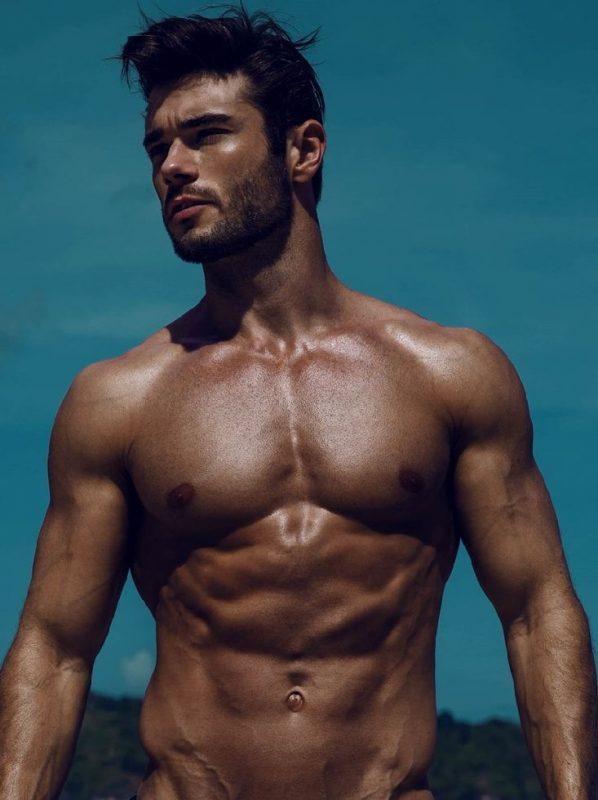 Amadeo Leandro by Wong Sim for Brazilian Male Model