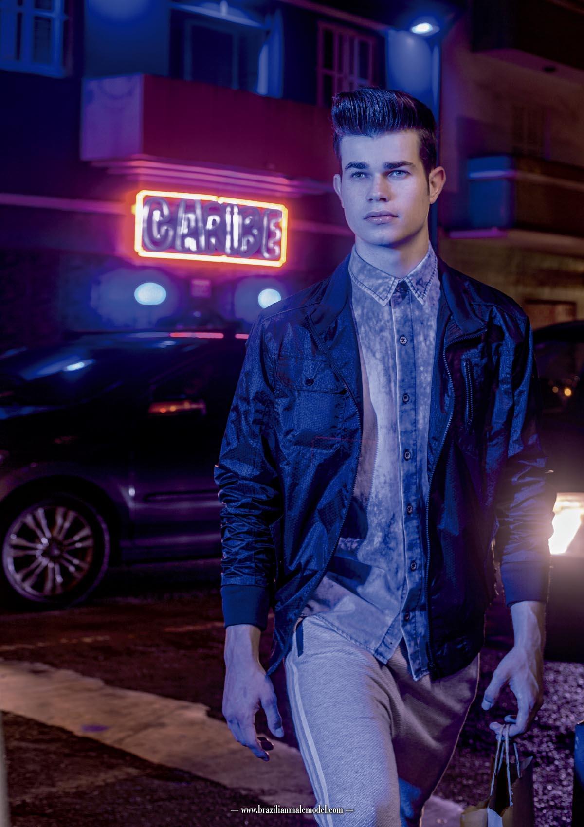 Matheus Arana by Ronaldo Gutierrez for Brazilian Male Model Magazine#1