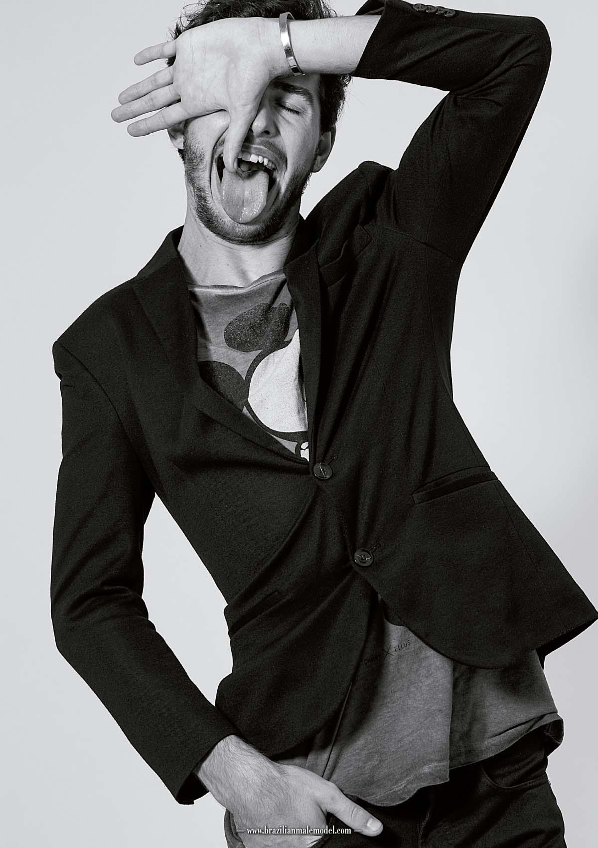 Jeferson Arendacz by Kenji Nakamura for Brazilian Male Model Magazine#1