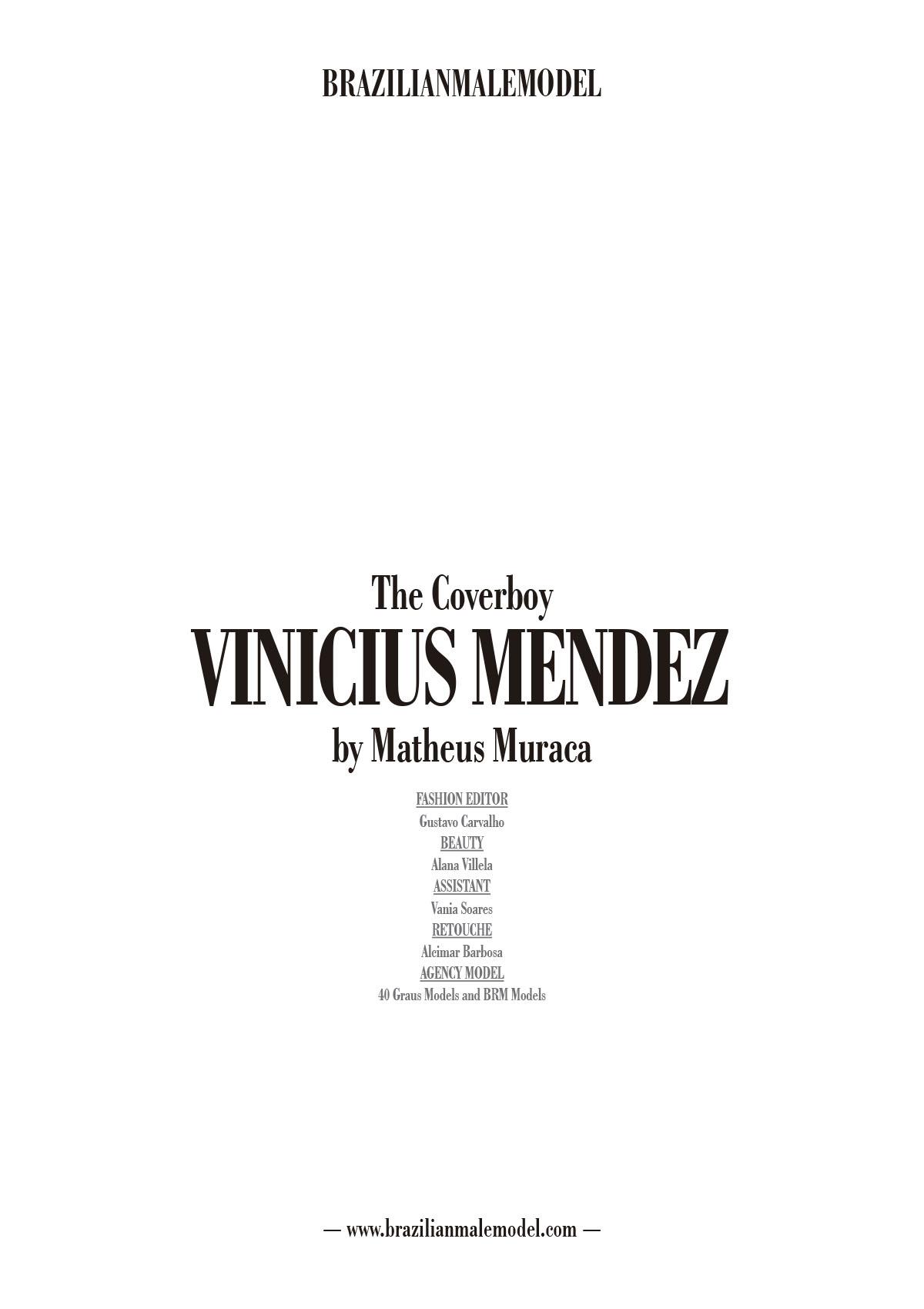 The Cover boy Vinicius Mendez by Matheus Muraca