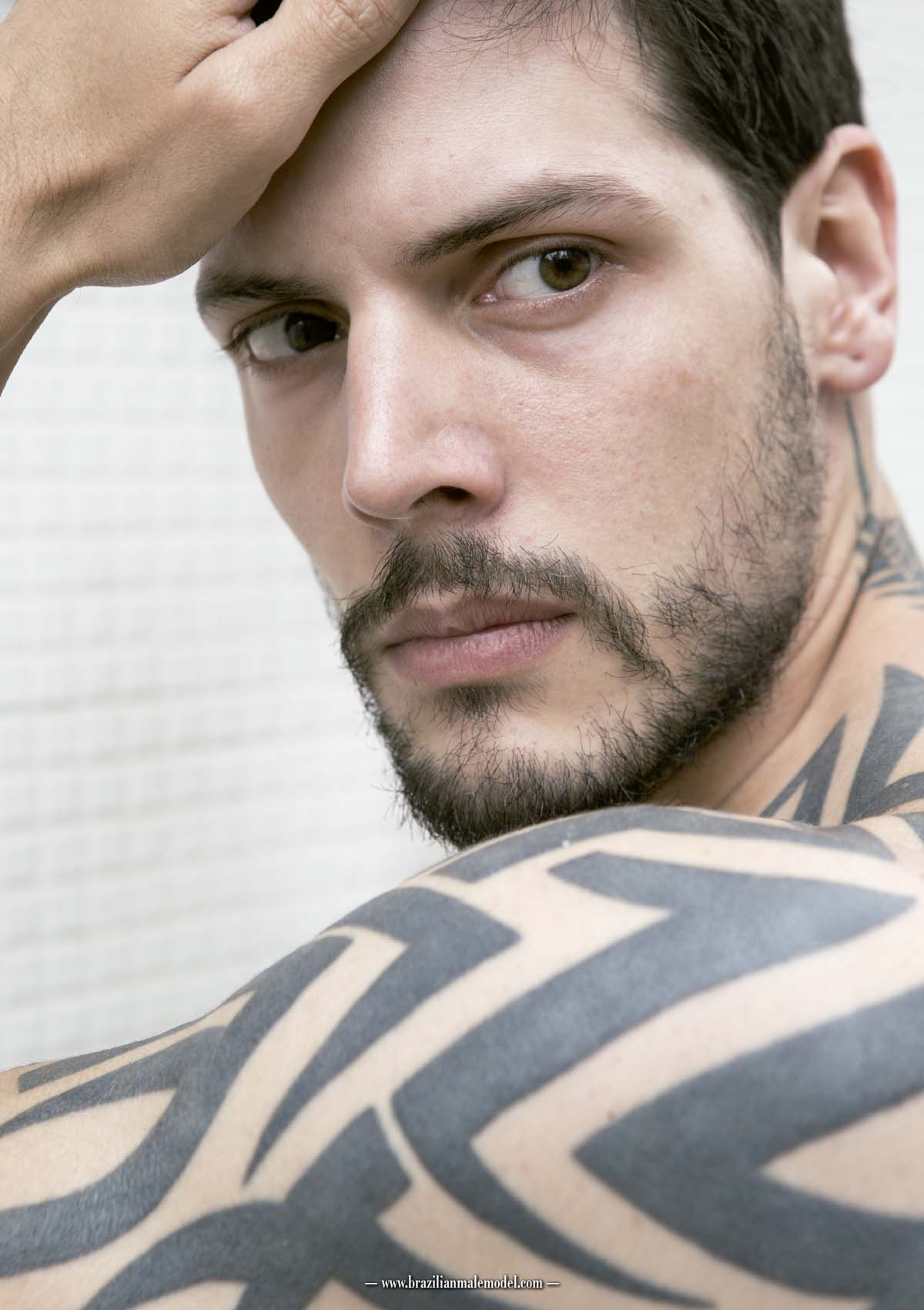 Peter Hahmann by Kenji Nakamura for Brazilian Male Model Magazine#1