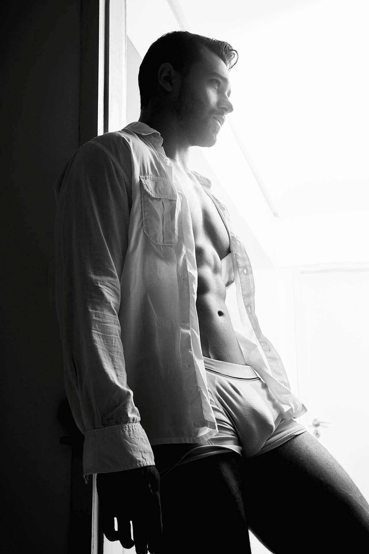 Bruno Mooneyhan by Pedro Fonseca for Brazilian Male Model