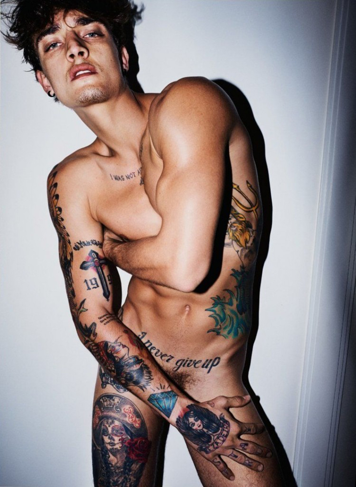 Jonathan Bellini by Mario Testino for Undressed Book