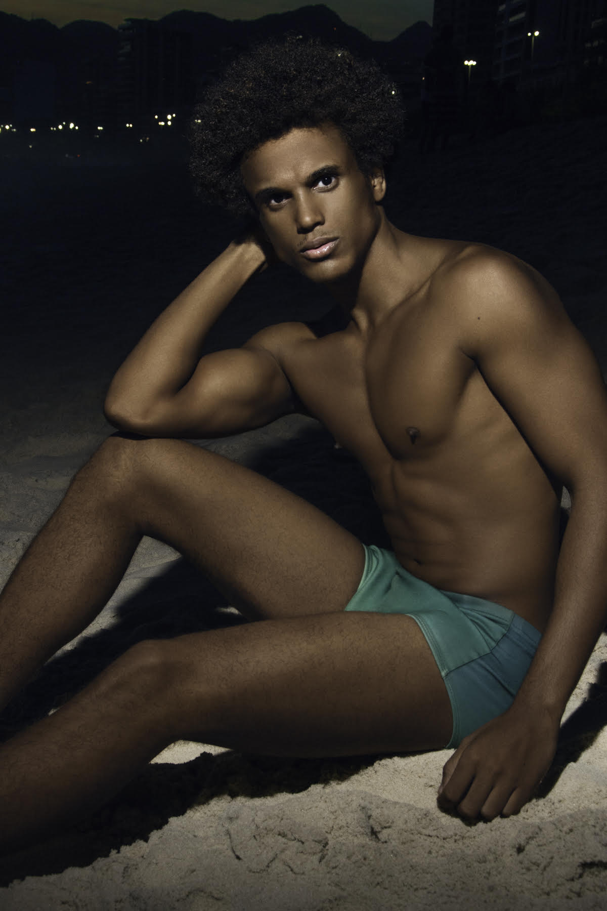 Taylor Romão by Dario Scala for Brazilian Male Model