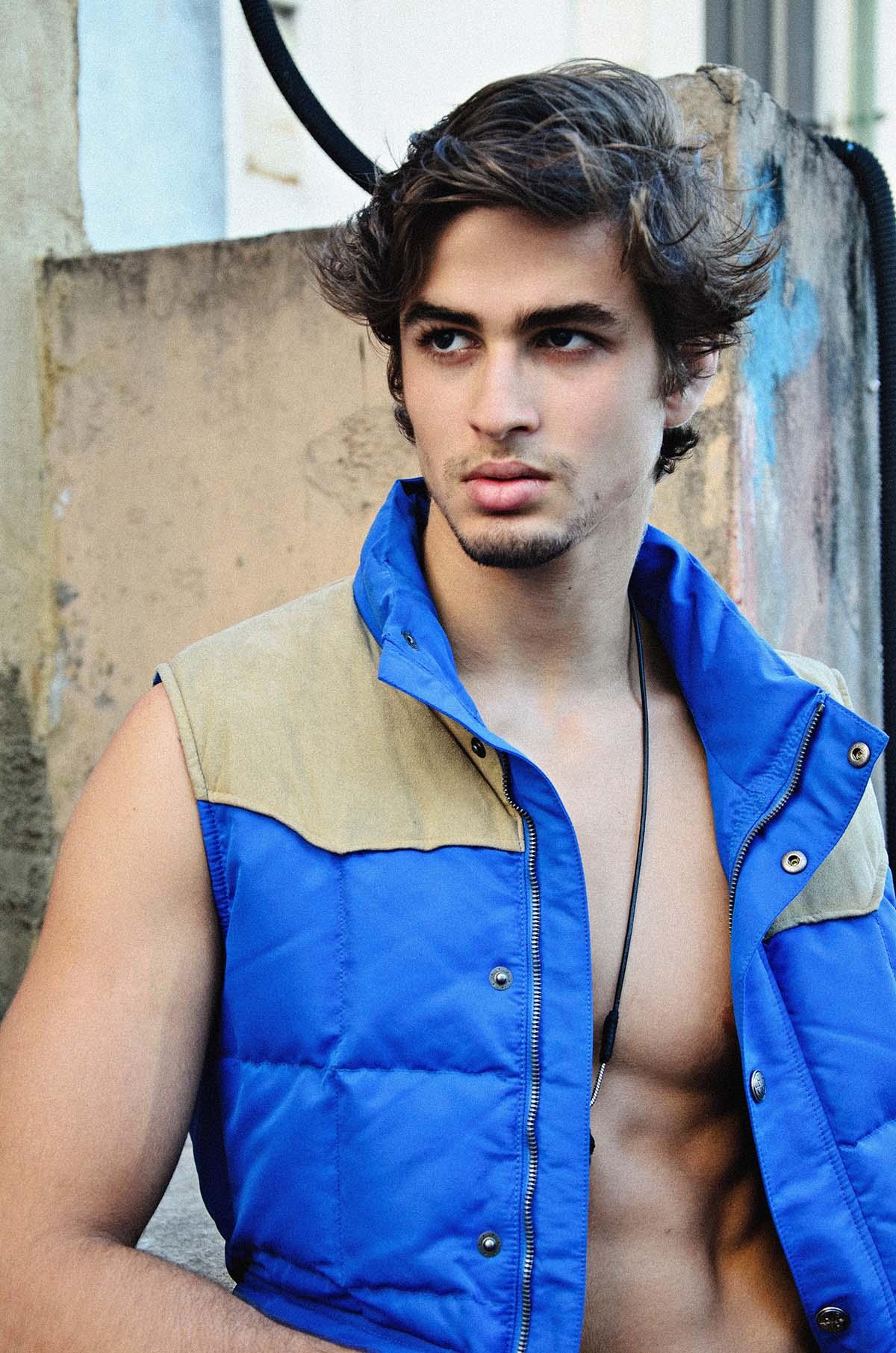 Gabriel Galindo by Felipe Pilotto for Brazilian Male Model