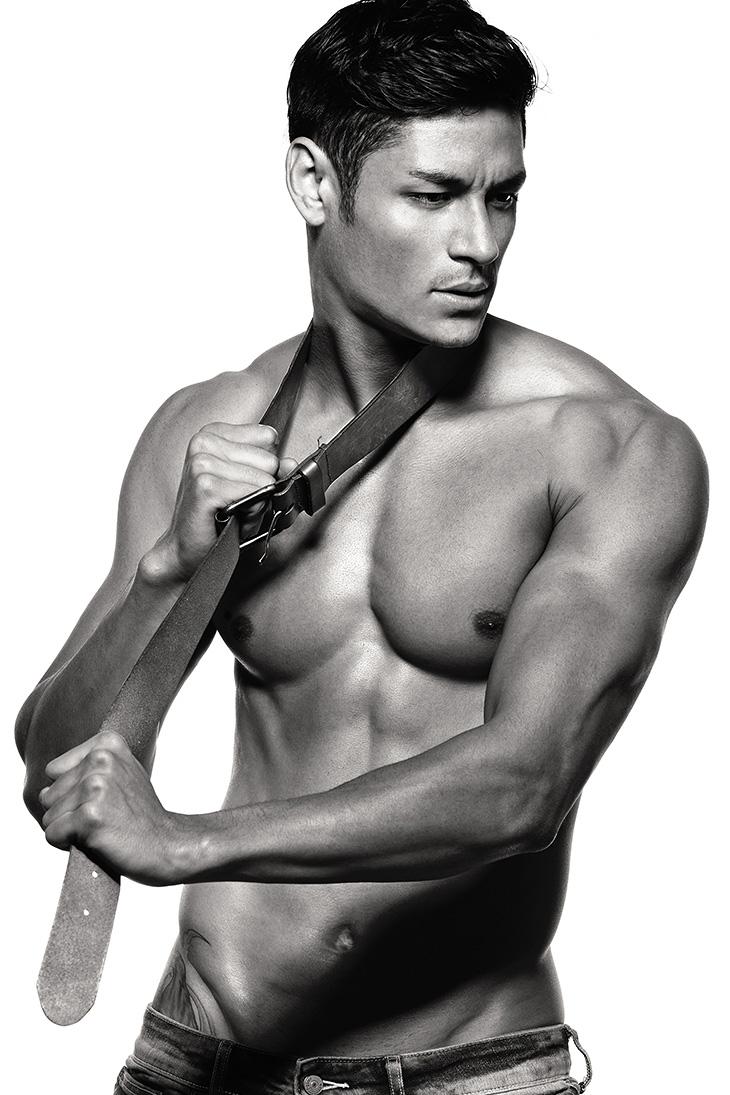 Hideo Muraoka by Wong Sim for Brazilian Male Model