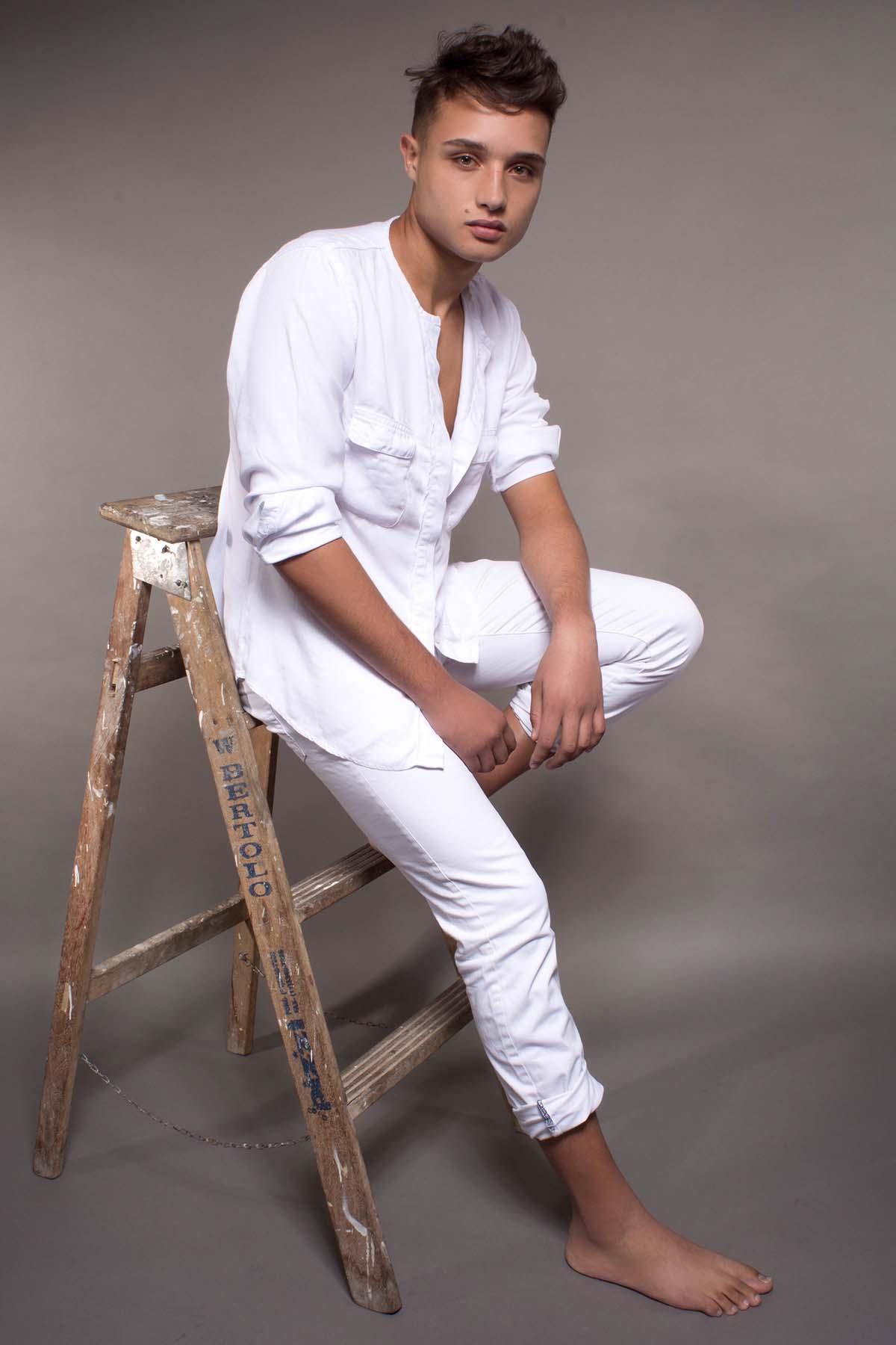 Italo Melo by De Macedo for Brazilian Male Model