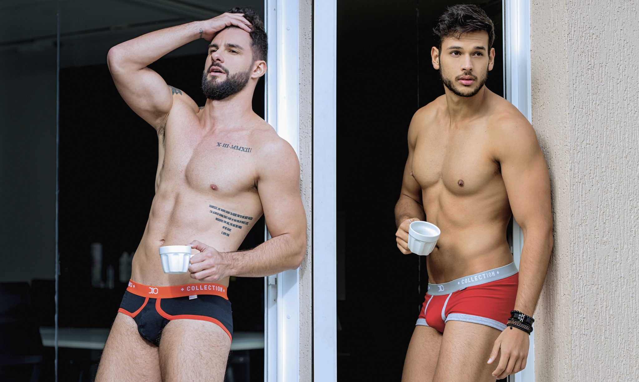 Bruno Rocha and Victor Dos Santos by Ronaldo Gutierrez for Brazilian Male Model
