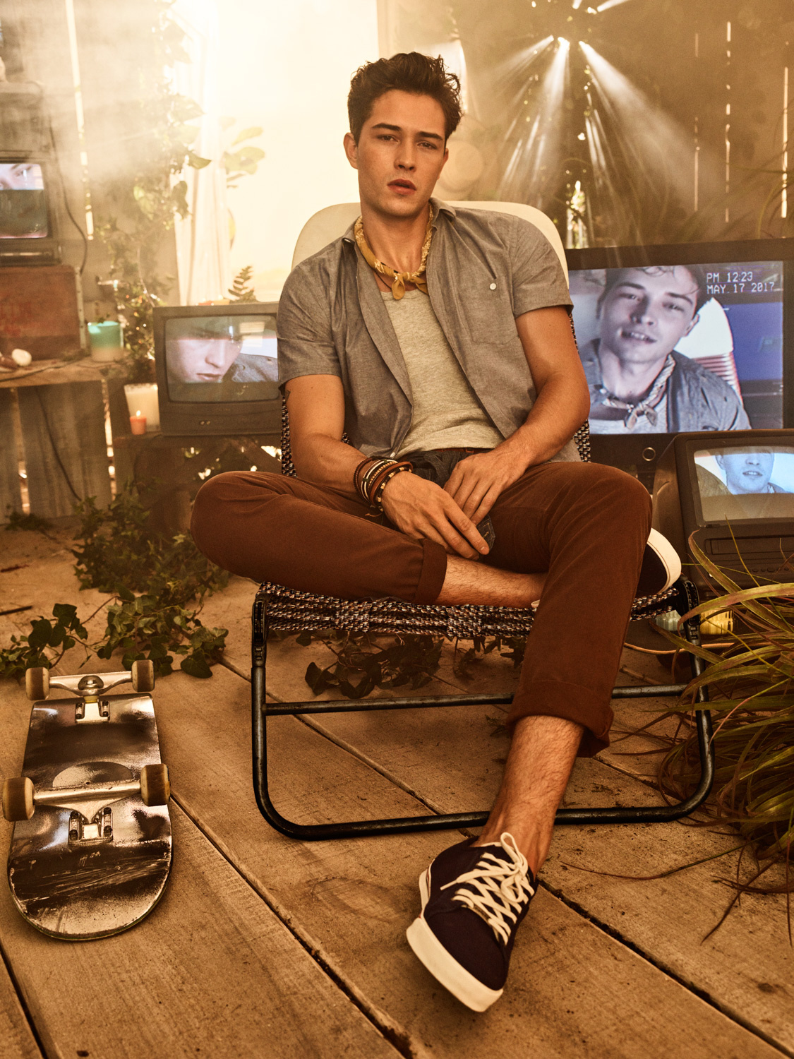 Francisco Lachowski by Giampaolo Sgura for Colcci