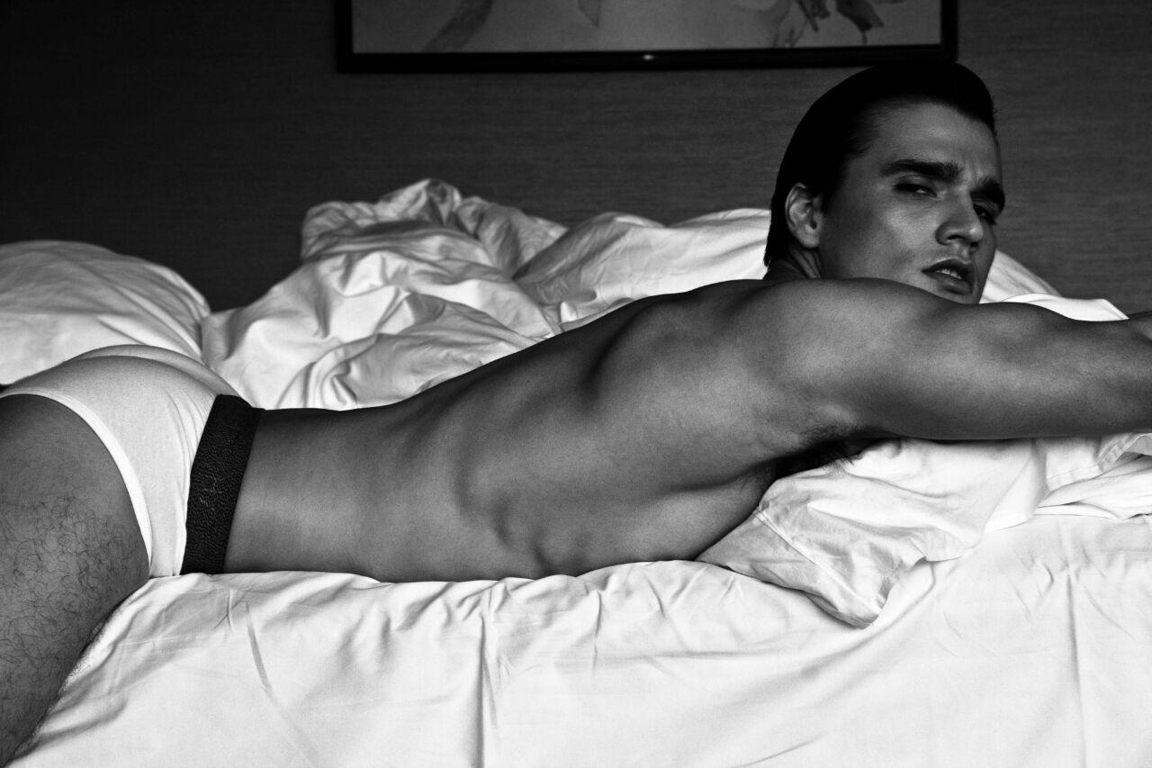 Hans Weiser by Xram Ragde for Brazilian Male Model
