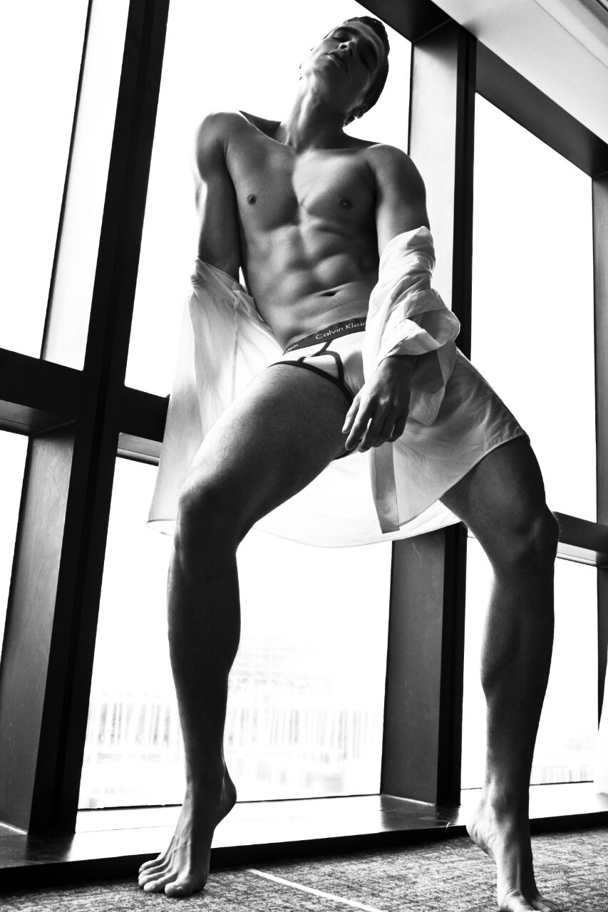 Hans Weiser by Xram Ragde for Brazilian Male Model