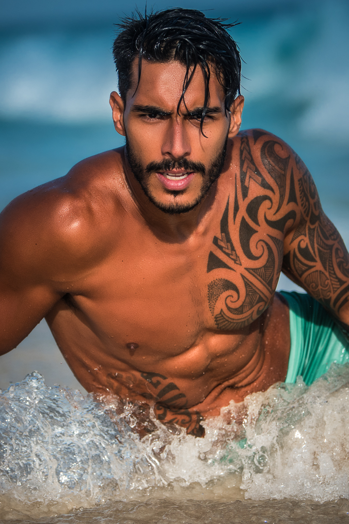 Paulo Philippe by Karina Chancey for Brazilian Male Model