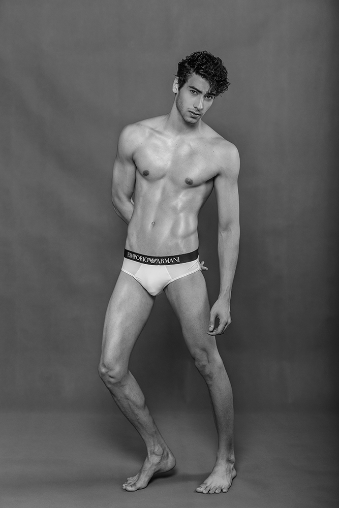 Gabriel Soriano by Jason Oung for Brazilian Male Model