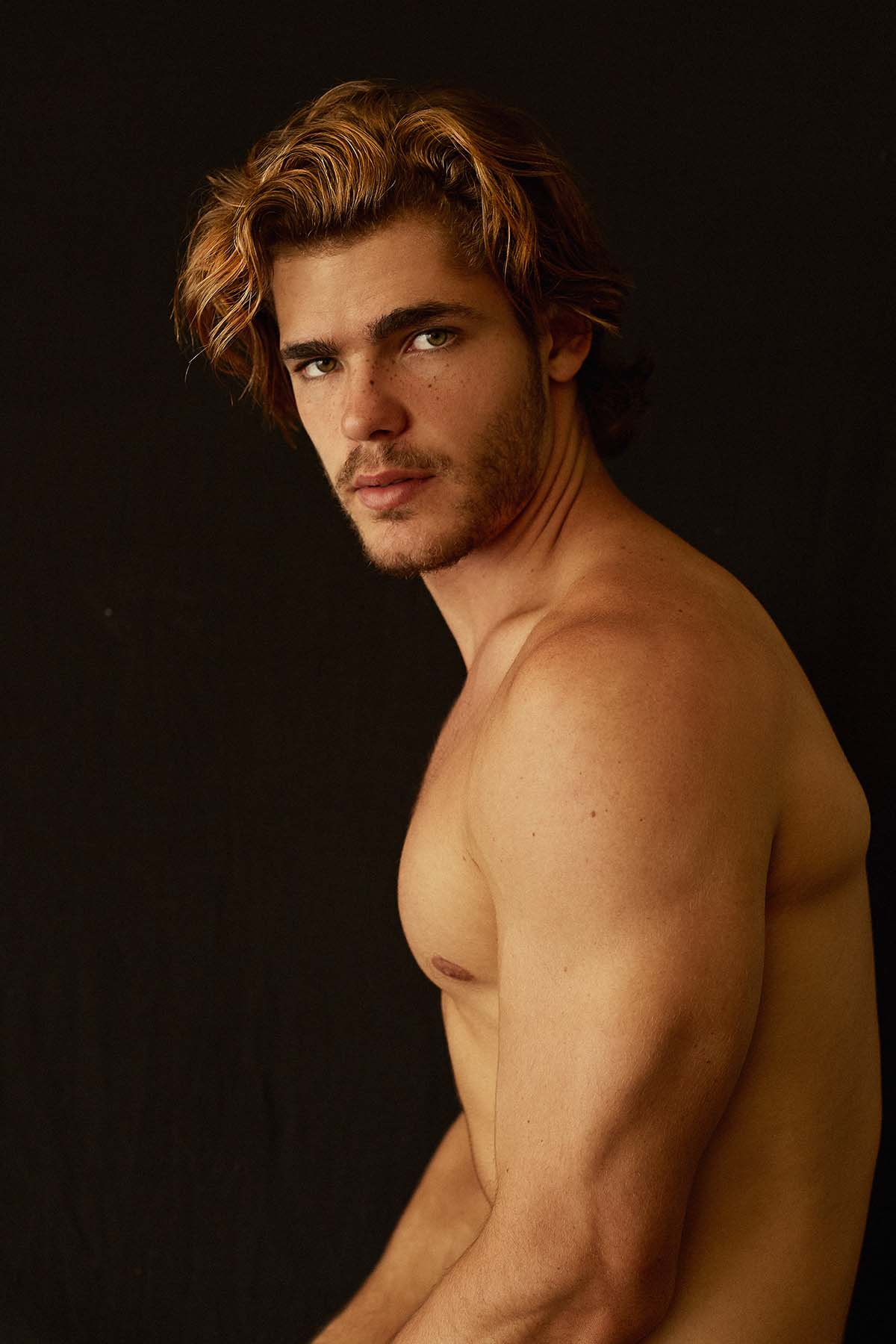 Johan Bruinsma by Vicente Mosto for Brazilian Male Model