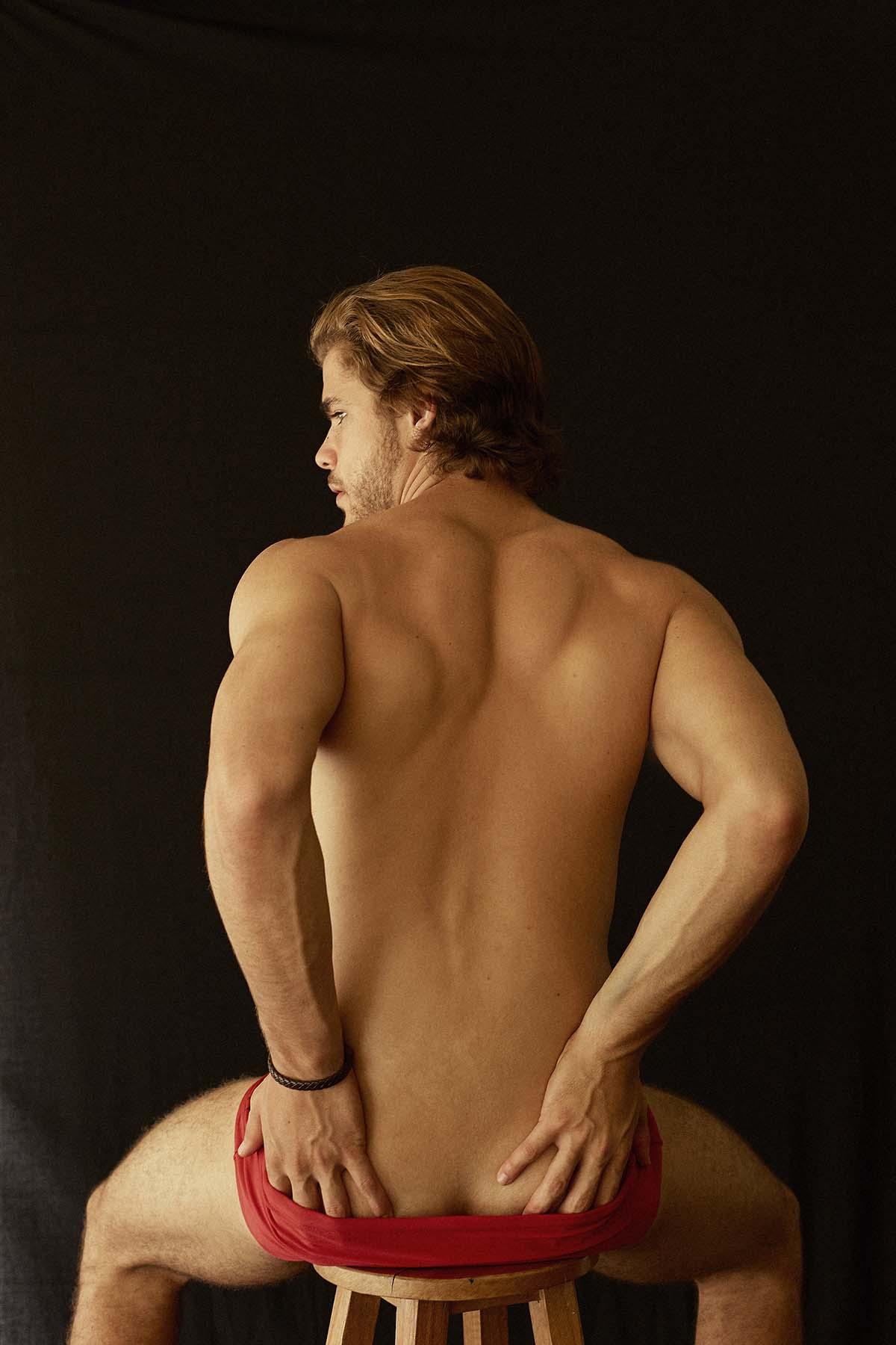 Johan Bruinsma by Vicente Mosto for Brazilian Male Model