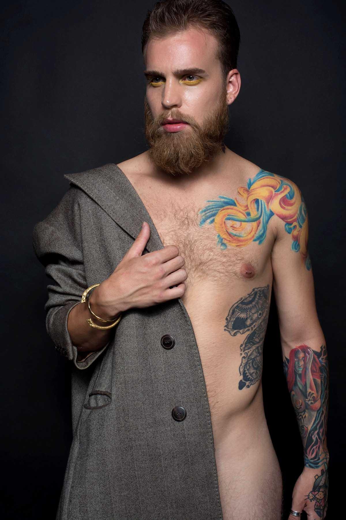 Julian Israel by De Macedo for Brazilian Male Model