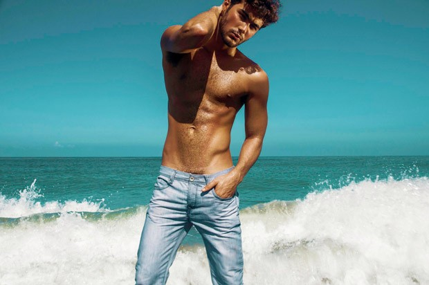 Lucas Alves by Manny Fontanilla for Brazilian Male Model