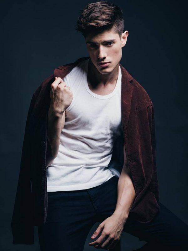 Luis Alberto Montero by Wong Sim for Brazilian Male Model