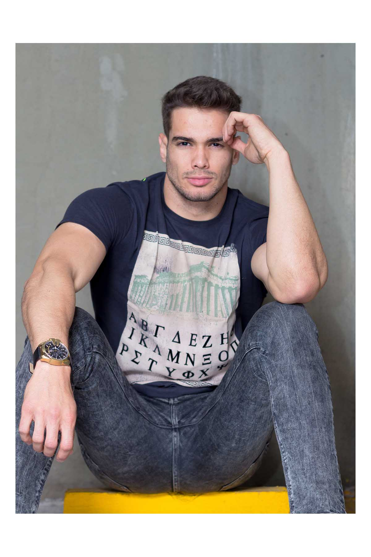 Antônio Silveira by Bernardo Lozano for Brazilian Male Model