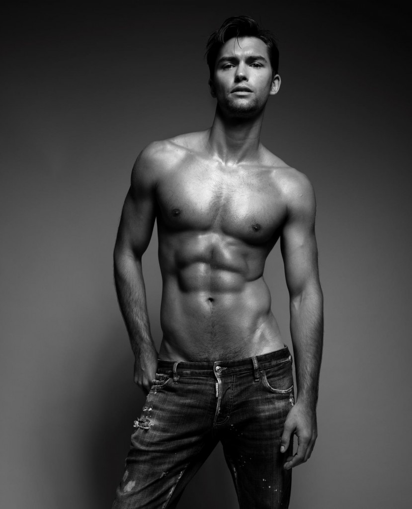 Lucas Garcez by Joseph Sinclair for Brazilian Male Model