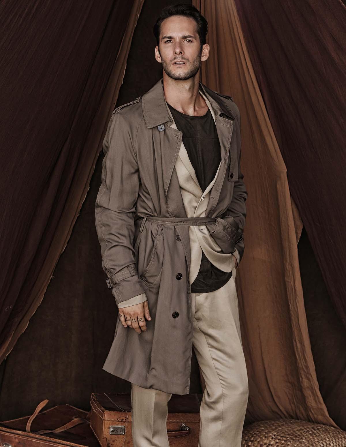 Luccas de Capra by Maurizio Montani for Brazilian Male Model