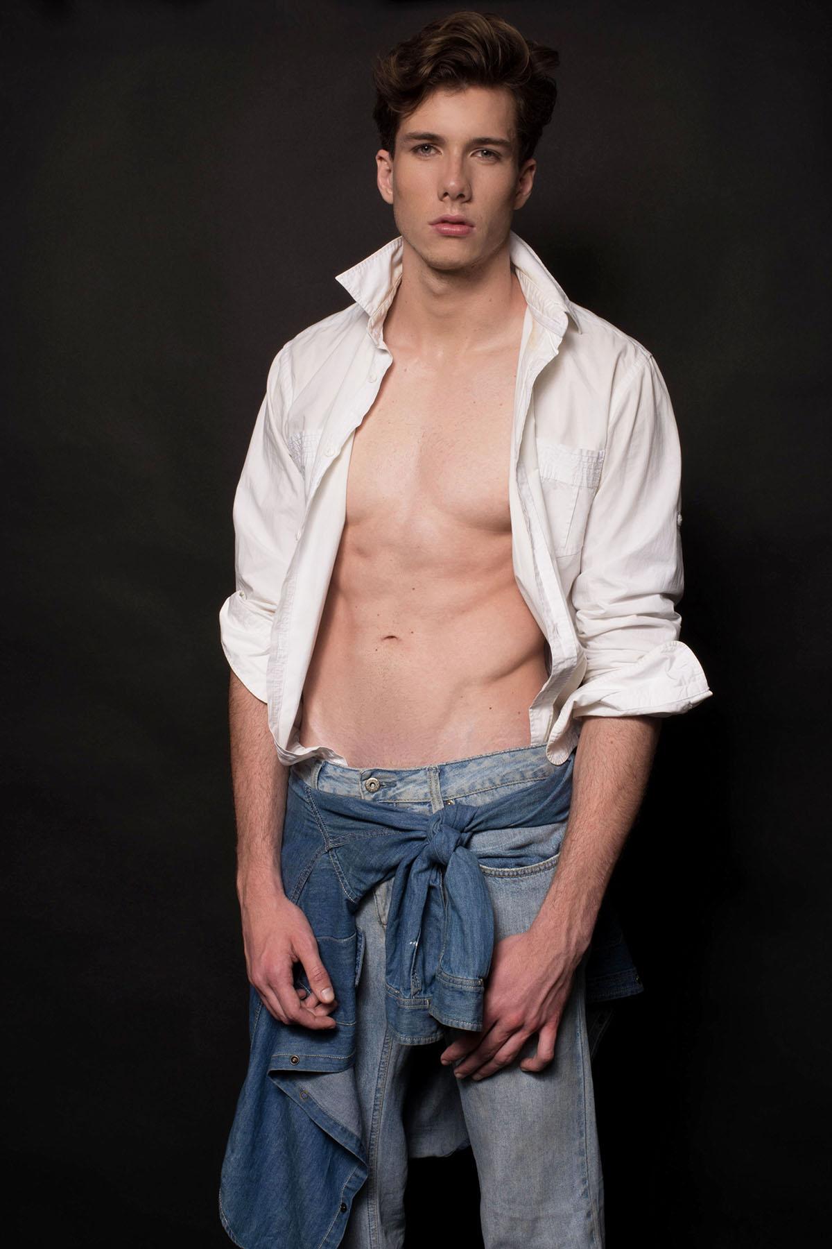 Matheus Stenico by De Macedo for Brazilian Male Model