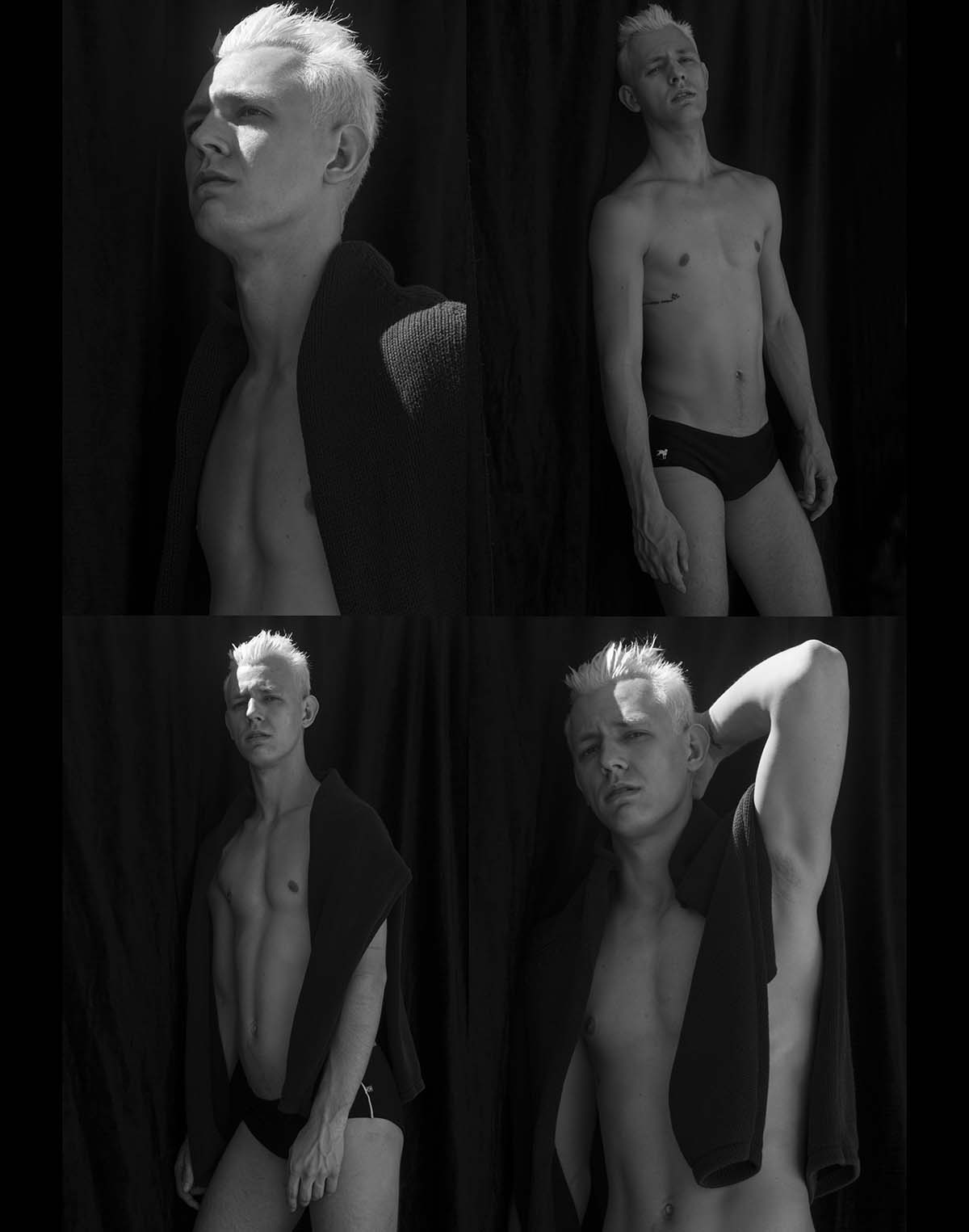 Richard Wagner by Fernanda Mac for Brazilian Male Model