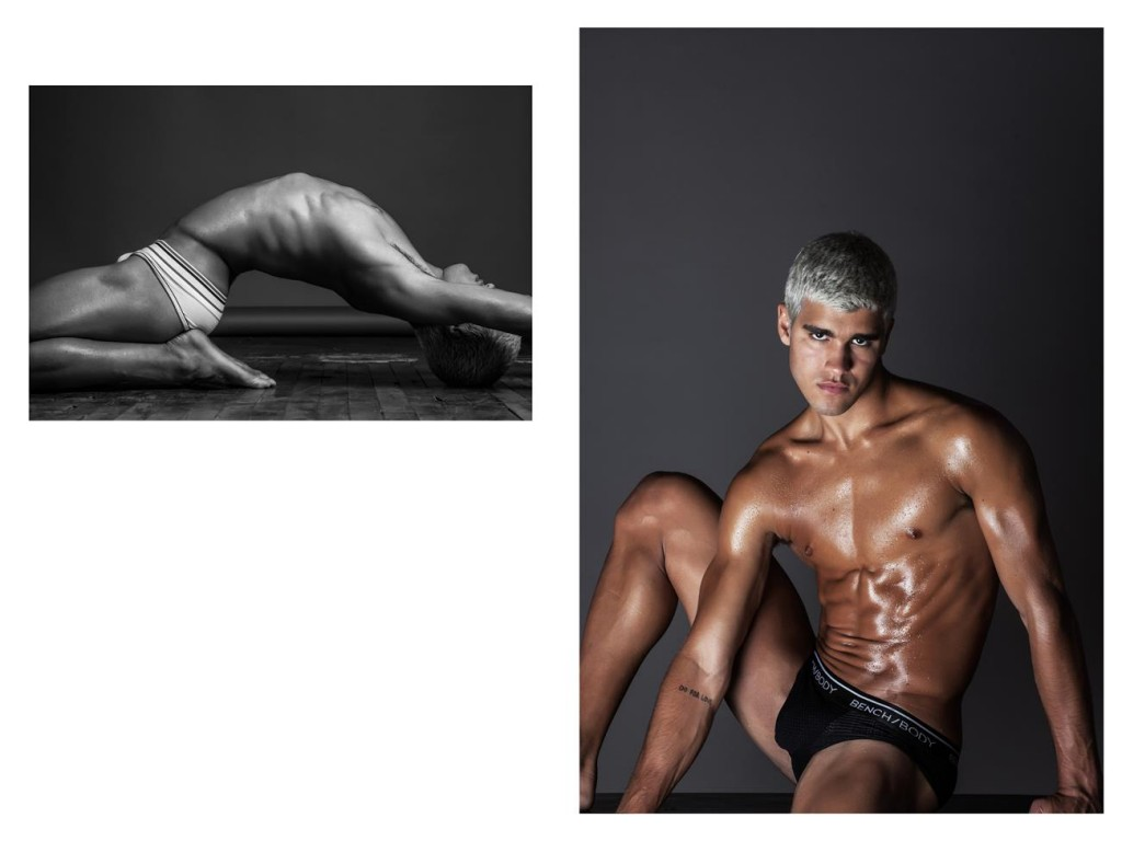 Pietro Baltazar by Brent Chua for Bench Body for Brazilian Male Model