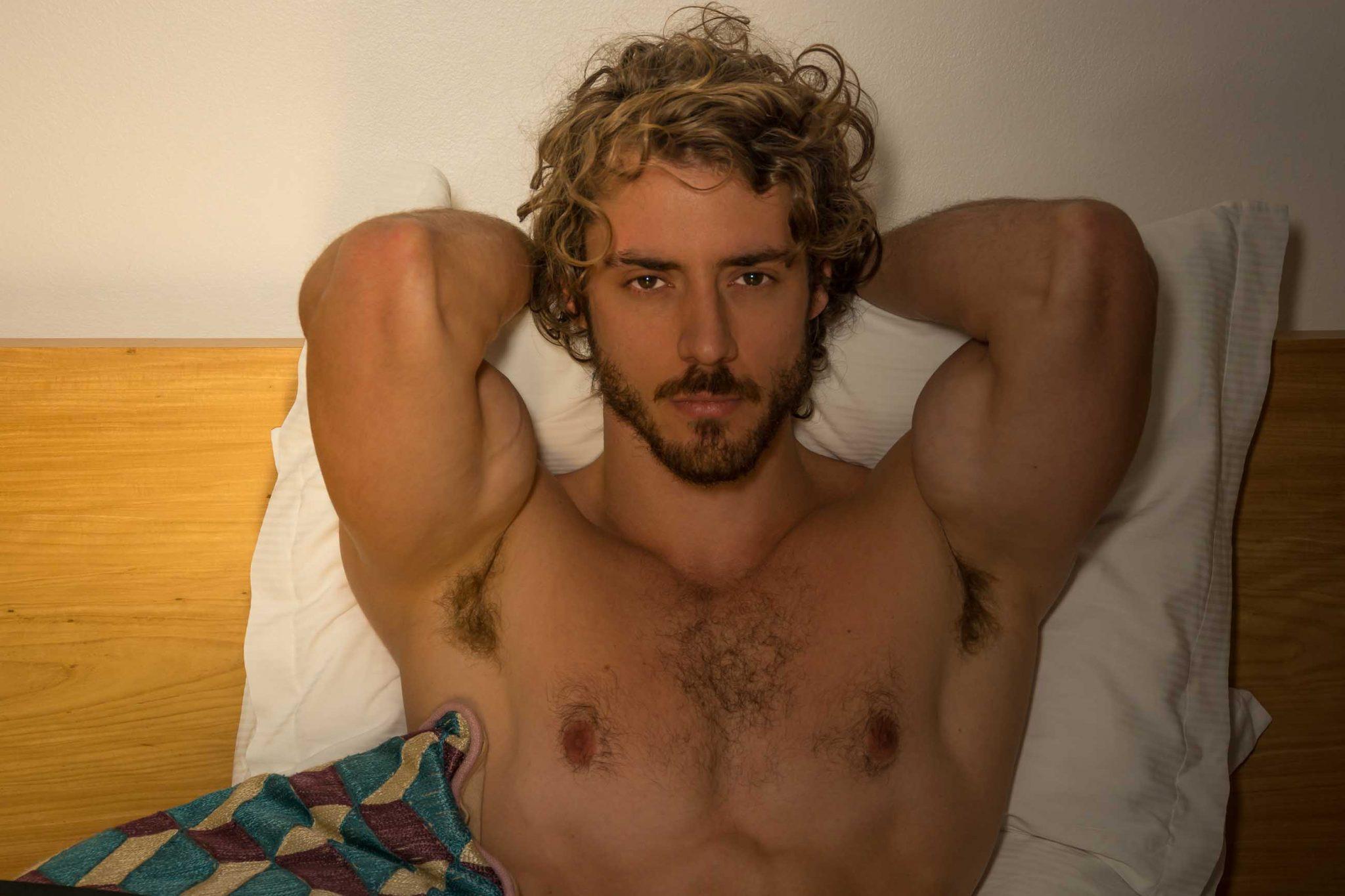Bernardo Dutra de Carlos Andrés Montoya para o modelo masculino brasileiro