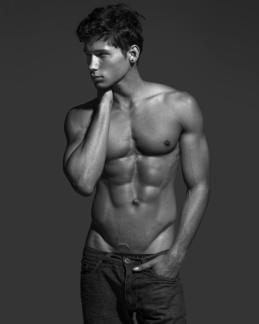 Fernando Skinner by Wong Sim for Brazilian Male Model