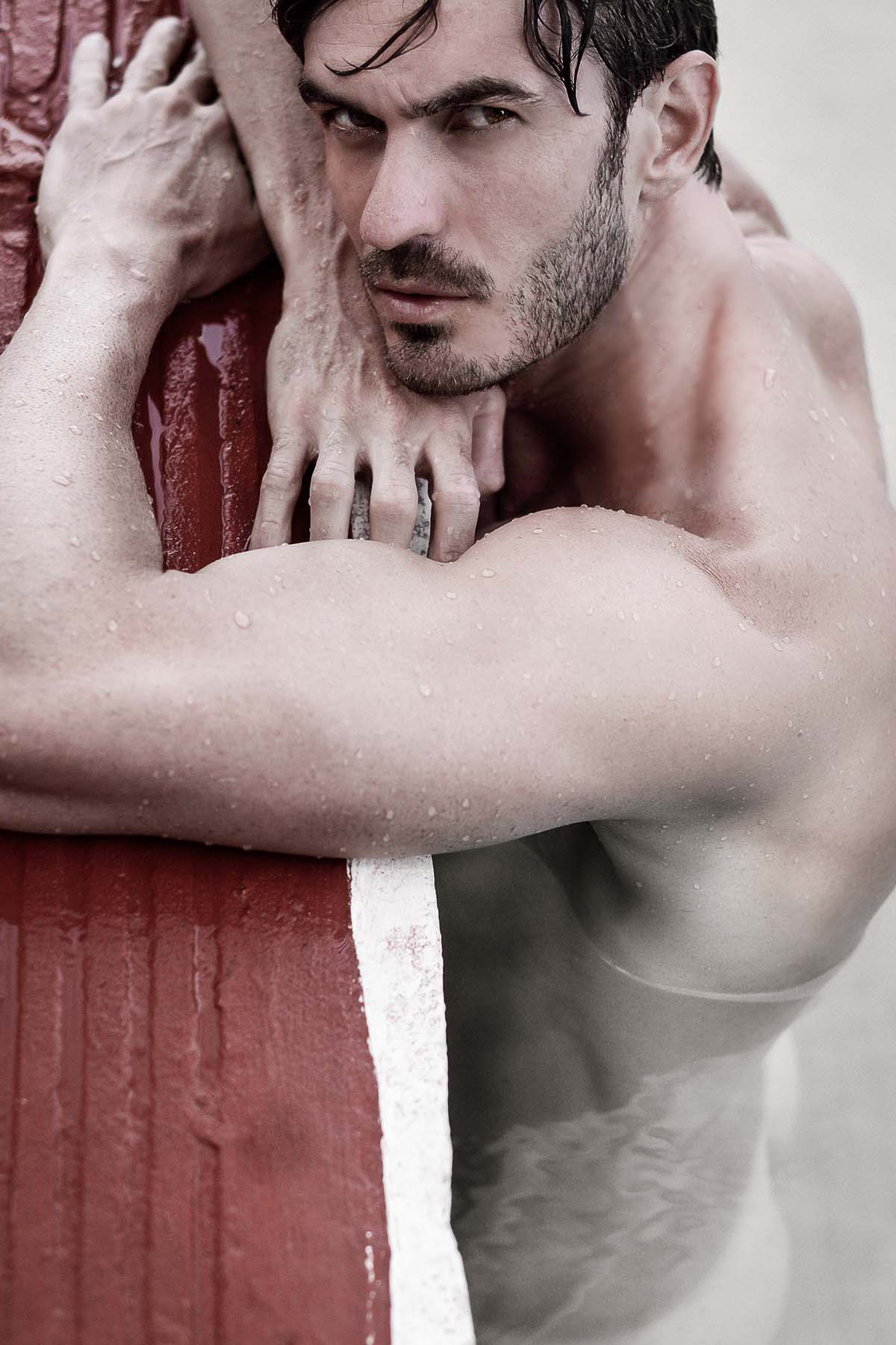 Rodrigo Puertas de Augusto Luna para modelo macho brasileiro