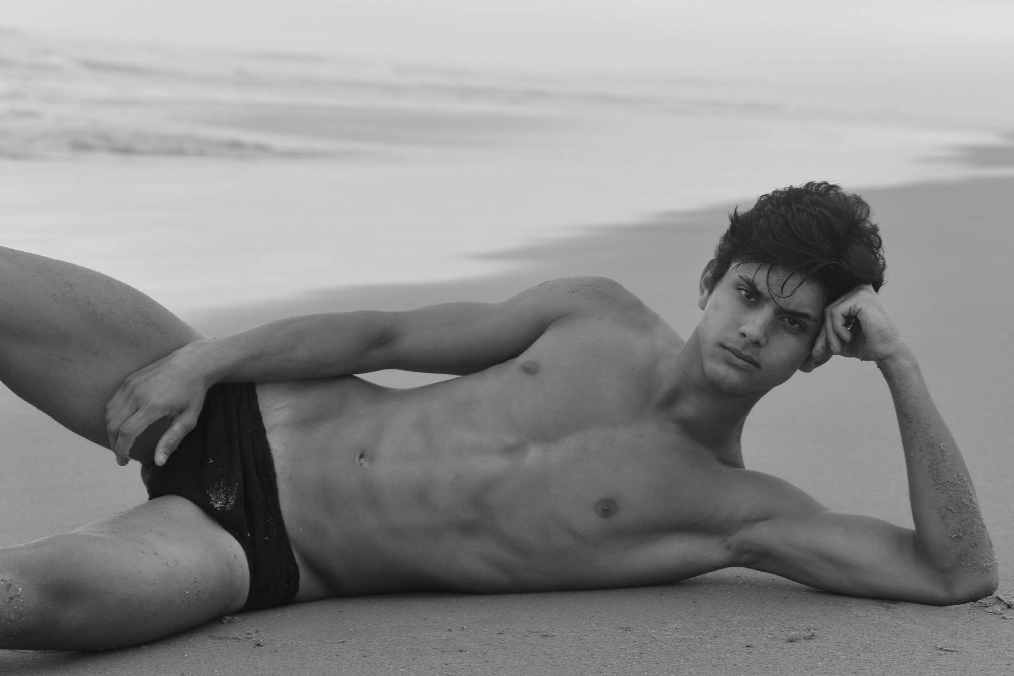 Gustavo Chaves by Vitor Lisboa for Brazilian Male Model