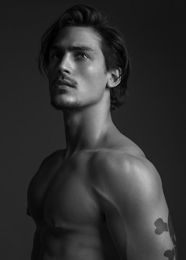 Gustavo Krier by Wong Sim for Brazilian Male Model