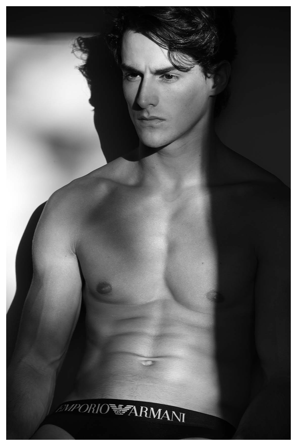 Iann Pastor by Bob Maestrelli for Brazilian Male Model