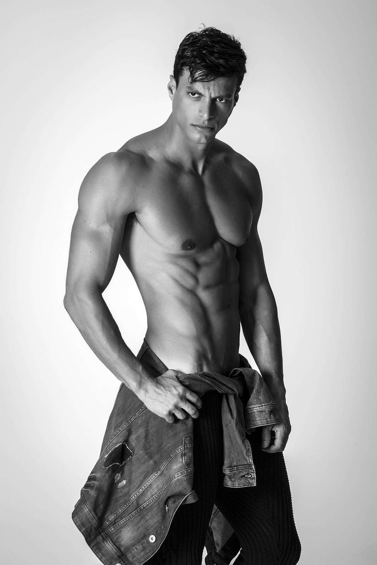 Felipe Anibal by Marcio Farias for Brazilian Male Model
