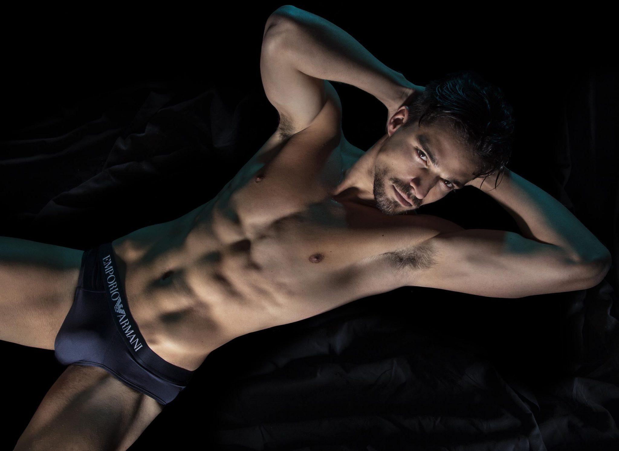 Jean Mariz by Giulio Cunico for Brazilian Male Model