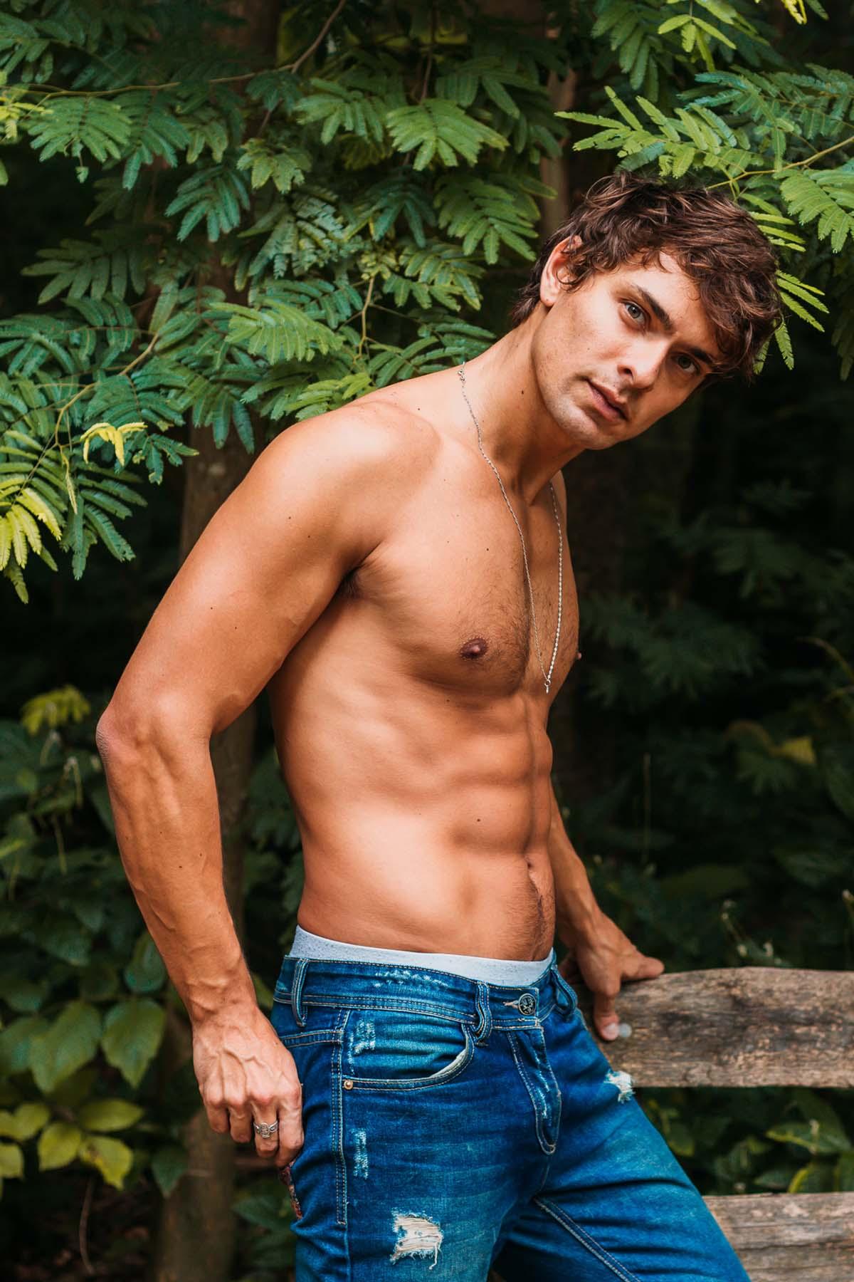 Leandro Juliani by Ernandês Marques for Brazilian Male Model
