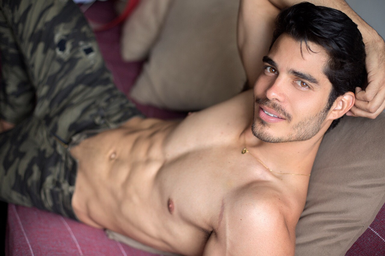 Paulo Fellipe Ribeiro by Ronaldo Gutierrez for Brazilian Male Model