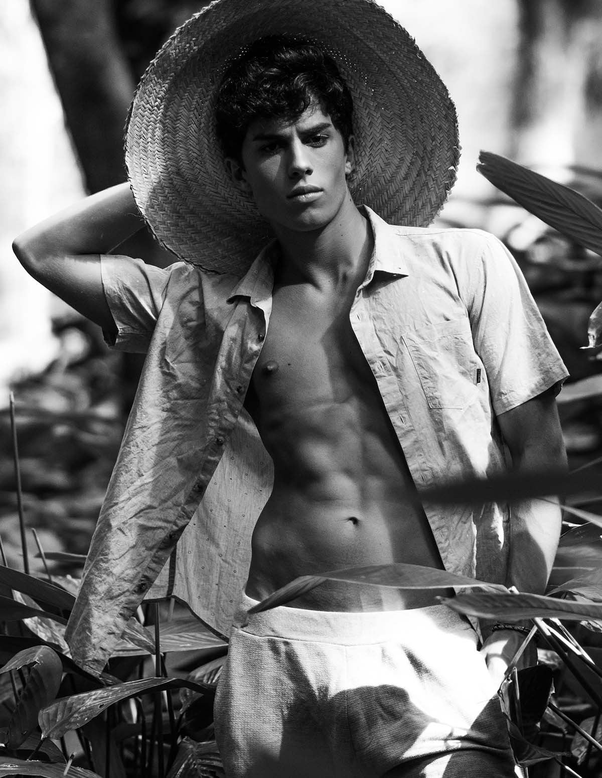 Luan Argollo by Carla Reichert for Brazilian Male Model