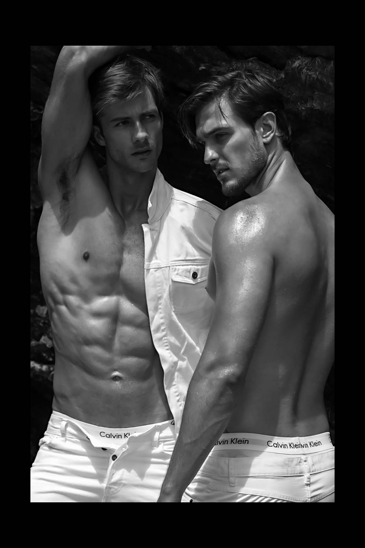 Gilberto Fritsch and João Fernando Mahl by Alexis Dela Cruz for Brazilian Male Model