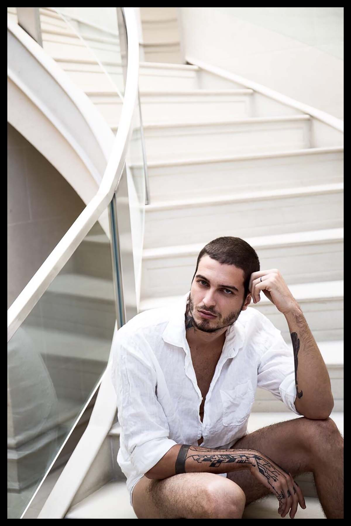 Gustavo Saad by Augusto Carneiro for Brazilian Male Model