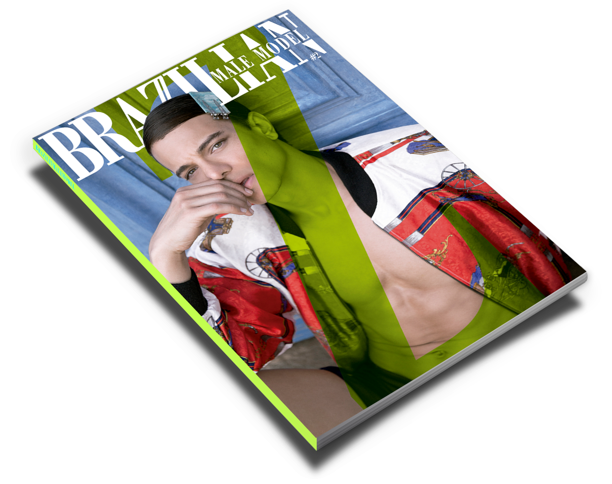 issue #2 brazilian male model magazine