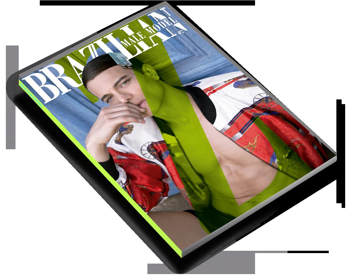issue #2 brazilian male model magazine