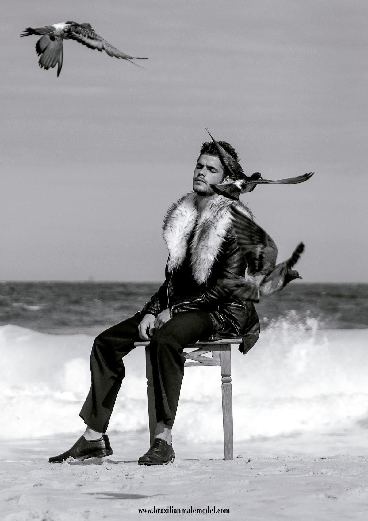Johan Bruinsma by Marcio Farias for Brazilian Male Model Magazine#2