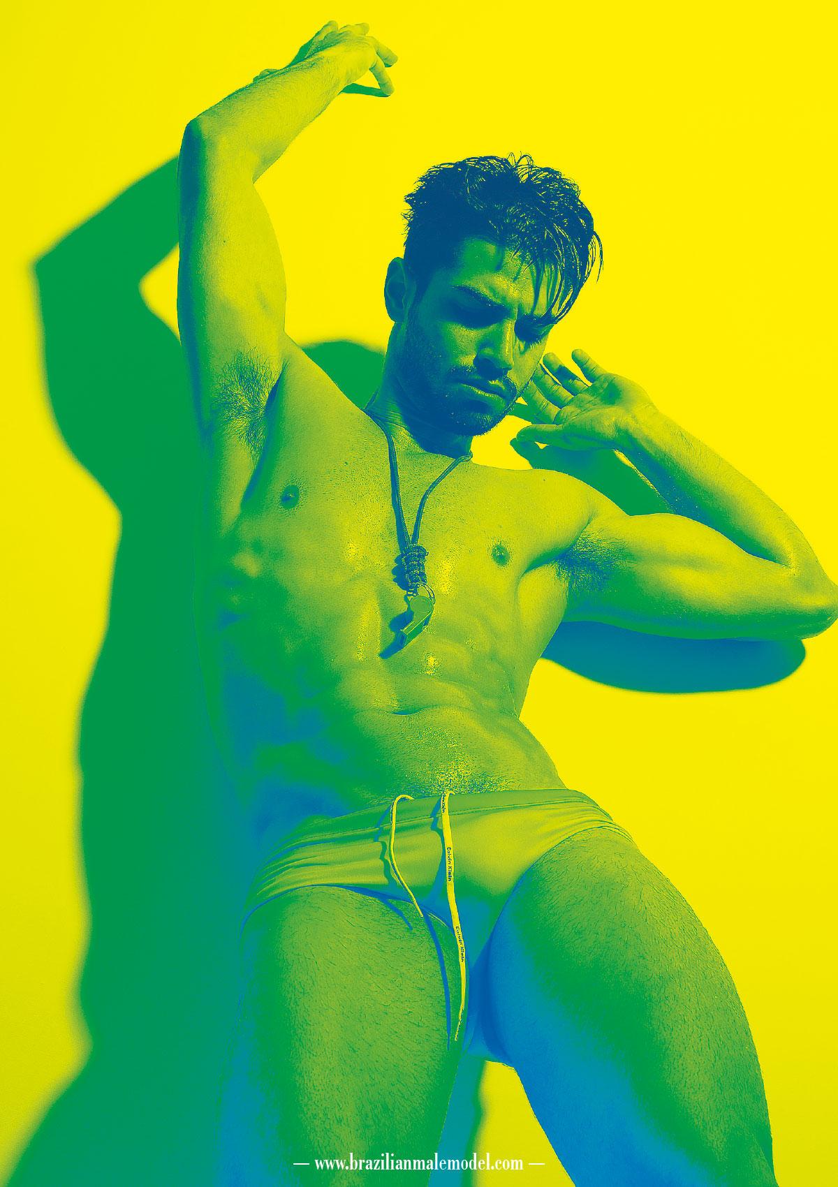 Jonatas Mozer by Kenji Nakamura for Brazilian Male Model Magazine#2