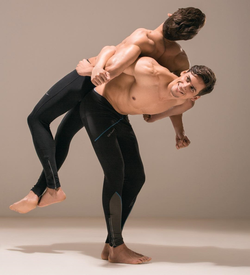 Marcio Patriota and Marcos Patriota by Kerron Clement for Brazilian Male Model